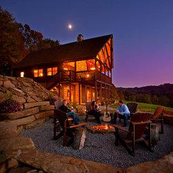 Rustic furniture for client's (upscale!) cabin - Joe Hilliard
