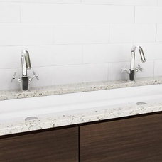 modern bathroom sinks by Montreal-Les-Bains