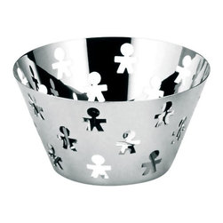 Alessi - Alessi AKK05 Girotondo Fruit Bowl - Fruit bowl. Manufactured by Alessi.