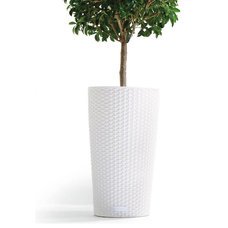 Contemporary Outdoor Planters by Brookstone