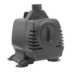 Smart Solar - Magnetic Drive in-line / Submersible Pump with 16 ft. Cable 1650 gph Kit - This mighty magnetic drive fountain pump boasts incredible 1650 gallon per hour, more than enough to handle the requirements of most any garden pond, fountain or waterfall!  A 16' long shielded electrical cable is included. * 110V AC in-line and submersible pump. For use with large statuary and fountains, medium ponds and aquatic gardens . Energy efficient. Powerful, quiet and reliable . Ideal for freshwater and pond use . Adjustable flow rate . 16 ft. cable to power supply . Includes attachments kit . UL listed. Pump. Wattage: 145W. Voltage: 110V AC. Current: 1.32A. Flow rate  550 - 1630 gallons / hour. Head Height max: 12.5 ft . Fits Outlet Sizes: 3/4 in. x 1 in.. 11.02 in. L x 7.87 in. W x 8.27 in. H (8 lbs.)In line with our policy of continuous product development Smart Solar reserves the right to change, vary or alter the product specification without prior notification.