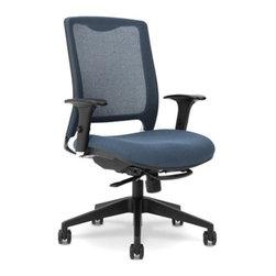 Ergocraft - Ergocraft GLO9.5 Task Chair with Synchro-Tilt Control - Blue - GLO9.5 - Shop for Chairs from Hayneedle.com! Simple yet sophisticated the Ergocraft GLO9.5 Task Chair with Synchro-Tilt Control - Blue is a comfortable and durable office chair that's perfect for any home. Made from polypropylene with a polished aluminum frame and a black fiberglass base reinforced with nylon this chair is made to last. Adjustable up-down ratchet arms synchro-tilt with tension control and a pneumatic seat height adjustment create a comfortable yet practical chair. Additional Features Arms adjust up and down Black fiberglass base reinforced with nylon Wheels for easy maneuverability About Ergocraft Office FurnitureErgocraft was established in 2000 and is based in the United States where most of their products are made. Ergocraft strives to provide comfort style and value with all of their office furniture products. From bookcases to office chairs to executive desks Ergocraft can be depended on to provide your office with superior products that are handsome and crafted to last. Ergocraft offers a limited lifetime warranty on most products and all of their furniture is carefully examined to ensure excellent workmanship on each piece.