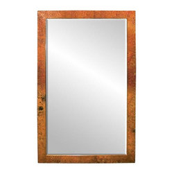 Native Trails - Native Trails Medium Milano Mirror in Tempered - *Beveled edge glass