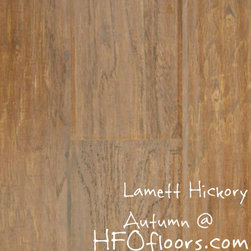 Lamett Hickory - Lamett Hickory, Autumn laminate. Available at HFOfloors.com.