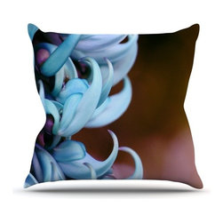 """Kess InHouse - Suzanne Carter """"Bloom"""" Throw Pillow (Outdoor, 26"""" x 26"""") - Decorate your backyard, patio or even take it on a picnic with the Kess Inhouse outdoor throw pillow! Complete your backyard by adding unique artwork, patterns, illustrations and colors! Be the envy of your neighbors and friends with this long lasting outdoor artistic and innovative pillow. These pillows are printed on both sides for added pizzazz!"""