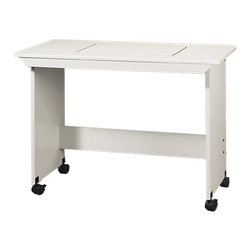 """Sewingrite - Sewingrite Model 373 Modular Sewing Embroidery Table Sewing White - Sewing tables are used for sewing but are more often used for utilities such as cutting and layout. Dimensions: 42"""" Wide x 19 3/4"""" Deep x 30 1/4"""" High."""