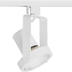 Progress Lighting - Progress Lighting Alpha Trak Collection White 1-light Track Head P6327-28 - Shop for Lighting & Fans at The Home Depot. The AlphaTrak modular system provides a practical approach to providing illumination in targeted areas. Select from track fixtures that feature 360-degree rotation and 90-degree tilt for precising aiming of PAR, BR or halogen light sources. Select fixtures and accessories for a complete system. Alpha Trak is not compatible with modular track systems.