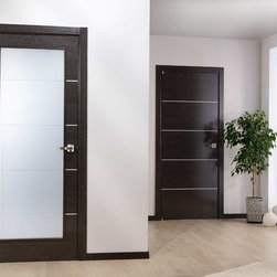 "Modern Interior Single Door Italian Black Apricot Decorative Strips - SKU#    AvantiBrand    ValdoDoor Type    InteriorManufacturer Collection    Modern European Interior DoorsDoor Model    Door Material    WoodWoodgrain    Black ApricotVeneer    Natural Italian Black Apricot wood veneerPrice    659Door Size Options    18"" x 80"" (1'-6"" x 6'-8"")  $024"" x 80"" (2'-0"" x 6'-8"")  $028"" x 80"" (2'-4"" x 6'-8"")  $030"" x 80"" (2'-6"" x 6'-8"")  $032"" x 80"" (2'-8"" x 6'-8"")  $036"" x 80"" (3'-0"" x 6'-8"")  $0Core Type    Swedish HoneycombDoor Style    ModernDoor Lite Style    Door Panel Style    Flush PanelHome Style Matching    Modern , ContemporaryDoor Construction    Prehanging Options    Prehung , SlabPrehung Configuration    Single DoorDoor Thickness (Inches)    1 3/4 , 1 3/8Glass Thickness (Inches)    Glass Type    Glass Caming    Glass Features    Glass Style    Glass Texture    Glass Obscurity    Door Features    Door Approvals    Door Finishes    Prefinished; natural Italian Black Apricot wood veneerDoor Accessories    Weight (lbs)    340Crating Size    25"" (w)x 108"" (l)x 52"" (h)Lead Time    Prefinished Slab Doors: 7 daysPrefinished Prehung:14 daysWarranty    2 Year Limited Manufacturer WarrantyHere you can download warranty PDF document."