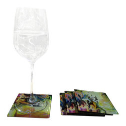 Jan Laurent - Torro Glass Coasters - Material:
