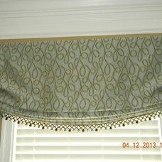 Contemporary Window Treatments by Sylvie's Custom Draperies & Blinds, LLC.