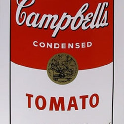 """Andy Warhol Campbell Soup Can (Tomato) Sunday B Morning Silkscreen Print Popart - Stunning Marilyn By Andy Warhol Sunday B Morning Serigraph Screen Print! These are fabulous exciting silkscreen screenprints. These are Sunday B. Mornings editions screenprints that are stamped on the verso in blue ink published By Sunday B Morning, fill in Your Own Signature. The inks' are the 1980's editions and the quality and integrity of the prints is impeccable. They are excellent High quality Silkscreen Screenprints printed on 'museum board' with the highest quality archival inks. Comes with Certificate of Authenticity. These are highly sought after by collectors for their quality, rarity and exciting vibrant colors.These are in excellent mint condition. Size is large at 35"""" x 23"""" inches."""