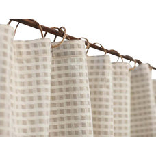 Farmhouse Shower Curtains by Nature's Crib