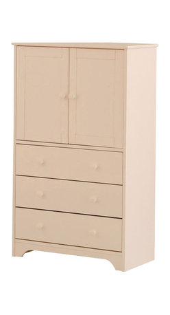 Canwood - Canwood 2 Door and 3-Drawer Chest in White - Canwood - Chests - 7741 - Clean lines and a rich wood finish add to the brilliance of this stunning Canwood Cupboard and 3-Drawer Chest Combo. A beautiful addition to your tween's bedroom, taking its design inspiration from the Canadian outdoors, this solid constructed Cupboard and 3-Drawer Chest Combo will fit flawlessly with your other Canwood decor. Add functional storage space without sacrificing the look of your room with this piece. With spacious interior cupboard shelves and 3 large drawers, there is plenty of space for your clothes, linens, toys and prized possessions.