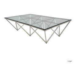 Origami Rectangular Coffee Table, Large