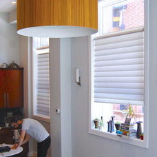 Contemporary Kitchen by Allure Window Treatments
