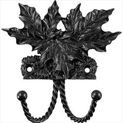 Sierra Lifestyles Decorative Hook - Maple Leaf - Black - Get Idea About Sierra Lifestyles Decorative Hook - Maple Leaf - Black. Sierra Lifestyles  Cabinet Hardware, Cabinet  Knobs, Cabinet Pulls , Switch plates, Rustic cabinet hardware, Double Hook, Hook, Decorative Hook, Knobs, Pulls and Decorative Hardware Accessories