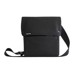 BlueLounge - Bonobo iPad Sling - Look at you, all stylish and organized. This little cross-body bag holds all your essentials, including your favorite mobile tablet in the padded main compartment. There's also an easy access front pocket, magnetic closures, and an adjustable strap — all in fashionable black.