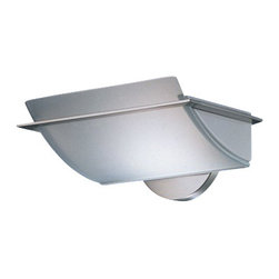 """Estiluz - Estiluz A-1245G wall sconce - The A-1245G wall sconce from Estiluz has been designed by Leonardo Marelli. This wall mounted luminaire is great for direct and indirect halogen lighting. The A-1245G is composed of a nickel, chrome or satin gold finished body with a satin glass Pyrex diffuser. The A-1245G wall sconce exhibits a sleek and sophisticated design, along with quality craftsmanship, that is sure to wonderfully brighten any modern domain.   Product Details: The A-1245G wall sconce from Estiluz has been designed by Leonardo Marelli. This wall mounted luminaire is great for direct and indirect halogen lighting. The A-1245G is composed of a nickel, chrome or satin gold finished body with a satin glass Pyrex diffuser. The A-1245G wall sconce exhibits a sleek and sophisticated design, along with quality craftsmanship, that is sure to wonderfully brighten any modern domain.  Details:                                      Manufacturer:                                      Estiluz                                                     Designer:                                     Leonardo Marelli                                                     Made in:                                     Spain                                                     Dimensions:                                      Height: 4.5"""" (11.6 cm) Width: 9.5"""" (24 cm)                                                     Light bulb:                                      1 X 100W halogen (max)                                                     Material:                                      Glass, Nickel finish"""