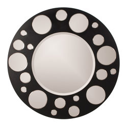 Encore Round-Framed Wall Mirror