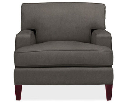 contemporary armchairs by Room & Board