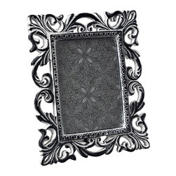 Sterling Industries - Sterling Industries 93-10044 Antique White Scrool Picture Frame - Picture Frame (1)