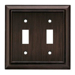Liberty Hardware - Liberty Hardware 64239 Architectural WP Collection 4.96 Inch Switch Plate - Vene - A simple change can make a huge impact on the look and feel of any room. Change out your old wall plates and give any room a brand new feel. Experience the look of a quality Liberty Hardware wall plate.. Width - 4.96 Inch,Height - 4.9 Inch,Projection - 0.2 Inch,Finish - Venetian Bronze,Weight - 0.46 Lbs