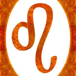 Fine Art America - Leo And Sacral Chakra Abstract Spiritual Artwork - July: Leo: Sensual Chakra: Orange