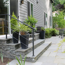 Contemporary Patio by Classic Nursery and Landscape Company