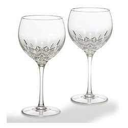 Waterford - Waterford Lismore Essence Balloon Wine Pair - Waterford Lismore Essence Balloon Wine Pair