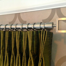 Modern Curtain Rods by Curtain Pros