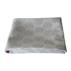Baby Baazaar Inc. - Layered Muslin Baby Blanket, Paisley Pink - Made with three layers of cotton. The printed layered is sandwiched between two layers of muslin allowing a subtle design to show through.100% Cotton. Handmade in India. Dry clean / machine wash cold.