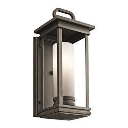 Kichler 1-Light Outdoor Fixture - Olde Bronze Exterior - One Light Outdoor Fixture
