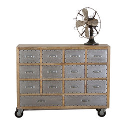 Amritsar 14-Drawer Dresser - Product Features: