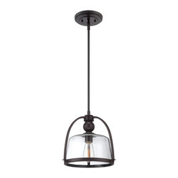 Quoizel - Quoizel QPP1401WT Piccolo Pendant Pendant Light - Quoizel piccolo pendants come in a variety of styles, finishes and materials to suit any home decor.  Choose from fabric, metal or even one of our Quoizel Naturals shades, with bamboo, onyx or agate stone, to name a few.  Look to our piccolo pendants to add the finishing touch to your home's style.