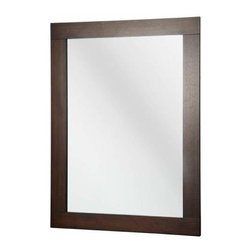 Foremost - Foremost Orion 38 Inch Mirror in Dark Walnut Finish - Foremost Orion 38 Inch Mirror in Dark Walnut Finish