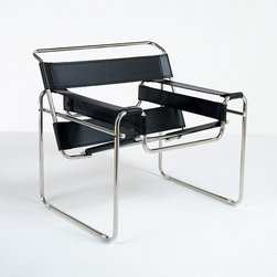 Modern Classics - Breuer: Wassily Chair Reproduction - Features: