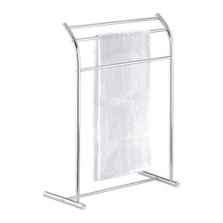 Taymor Industries USA - Taymor Chrome Curved Floor Towel Valet Multicolor - 01-1089 - Shop for Shower and Tub Caddies from Hayneedle.com! About Taymor Industries Inc Established in 1948 to create quality products unbeatable value and premier customer service Taymor Industries Inc. continues their tradition today under a team of industry professionals who are dedicated to bringing the best designs and quality in bath accessories and residential/commercial security hardware. With distribution centers in Arizona and Atlanta Taymor Industries can ensure a fast turnaround time for their customers and continue to be an industry leader based on their history and future objectives.