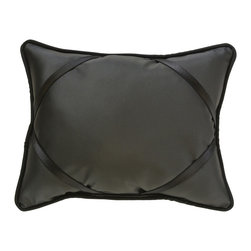 "Black Leather iBuddy Tablet Pillow For iPad - Our iBuddy tablet holder is designed for the iPad, iPad2, Kindle DX or other tablets and touch pads of similar size. Comes in a variety of colors and patterns to accommodate all age groups!  Supported Devices: iPad & Tablet Holder Pillow For iPad, iPad 2, iPad 3, iPad 4, iPad with Retina Display, Kindle DX, Kindle Fire 8.9"" 4G, Nook HD+, Samsung Galaxy Tab 10.1 & Google Nexus 10"