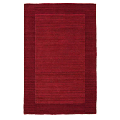 """Kaleen - Kaleen Regency Regency (Red) 5' x 7'9"""" Rug - Regency offers an array of fourteen beautifully elegant subtle tones for today's casual lifestyles. Choose from rich timeless hues shaded with evidence of light brush strokes. These 100% virgin wool, hand loomed rugs are sure to add comfort and warmth to any setting. Hand crafted in India."""