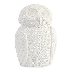 IMAX CORPORATION - Oscar the Owl - With an inquisitive stare, Oscar the owl features a crisp, white finish and looks great perched on any tabletop!. Find home furnishings, decor, and accessories from Posh Urban Furnishings. Beautiful, stylish furniture and decor that will brighten your home instantly. Shop modern, traditional, vintage, and world designs.