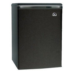 Curtis - Igloo 3.2 Cu Ft Mini Fridge Black - IGLOO Black 3.2 cu. ft. Mini Refrigerator and Freezer is equipped with an adjustable thermostat CFC-free compressor and It sports a reversible door construction that could be opened from either side so you can place it in any corner of the room. Wire shelves maximize the efficiency of the fridge and reduce its power consumption helping you save on energy bills. Further the reversible-door refrigerator in tegrates a door can holder and a tall bottle holder. Adjustable leveling legs help keep refrigerator stable on uneven floors.