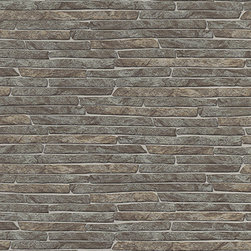 Erismann - 6828-11 Erismann Authentic Brick Wallpaper, Double Roll - Wallpaper accent wall is a new trend and we at Designers Wallpaper have a solution - modern and stylish non-woven wallpaper from leading European designers for any taste and styles to choose from