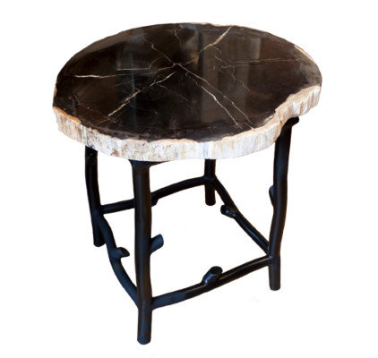 Eclectic Side Tables And End Tables by Agate Designs