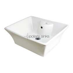 PolarisSinks - Polaris P051VB Bisque Porcelain Vessel Sink - Our extensive line of porcelain sinks will compliment any decor from the traditional to the unique. Our porcelain sinks are true vitreous China with a triple laid glaze to create the strongest sink you will find. Our porcelain sinks are extremely low maintenance. Our porcelain sinks are covered by a limited lifetime warranty. Each comes with a cardboard cutout template and mounting hardware.