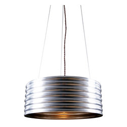 Reclamations - ROUTE 66 Industrial Inspired Pendant Light - Route 66 is inspired by articles used in construction of America's iconic highway 66.