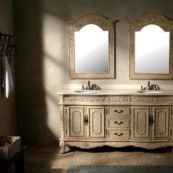 """72"""" Terracina Double Sink Vanity -"""