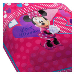 Jay Franco and Sons - Disney Minnie Mouse Hearts Bow-tique Twin Bed Comforter - Features: