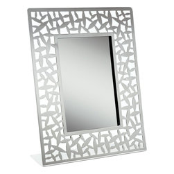 """Alessi - Alessi """"Cactus!"""" Photo Frame - Photo frame in 18/10 stainless steel mirror polished."""