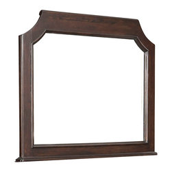 Standard Furniture - Standard Furniture Vantage Arched Mirror in Rich Espresso - Transitional and refined, the understated elegance of vantage bedroom gives it style versatility and timelessness.