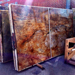 Royal Stone & Tile Slab Yard in Los Angeles - Rome' Impreiale Quartzite Granite Slab from Royal Stone & Tile